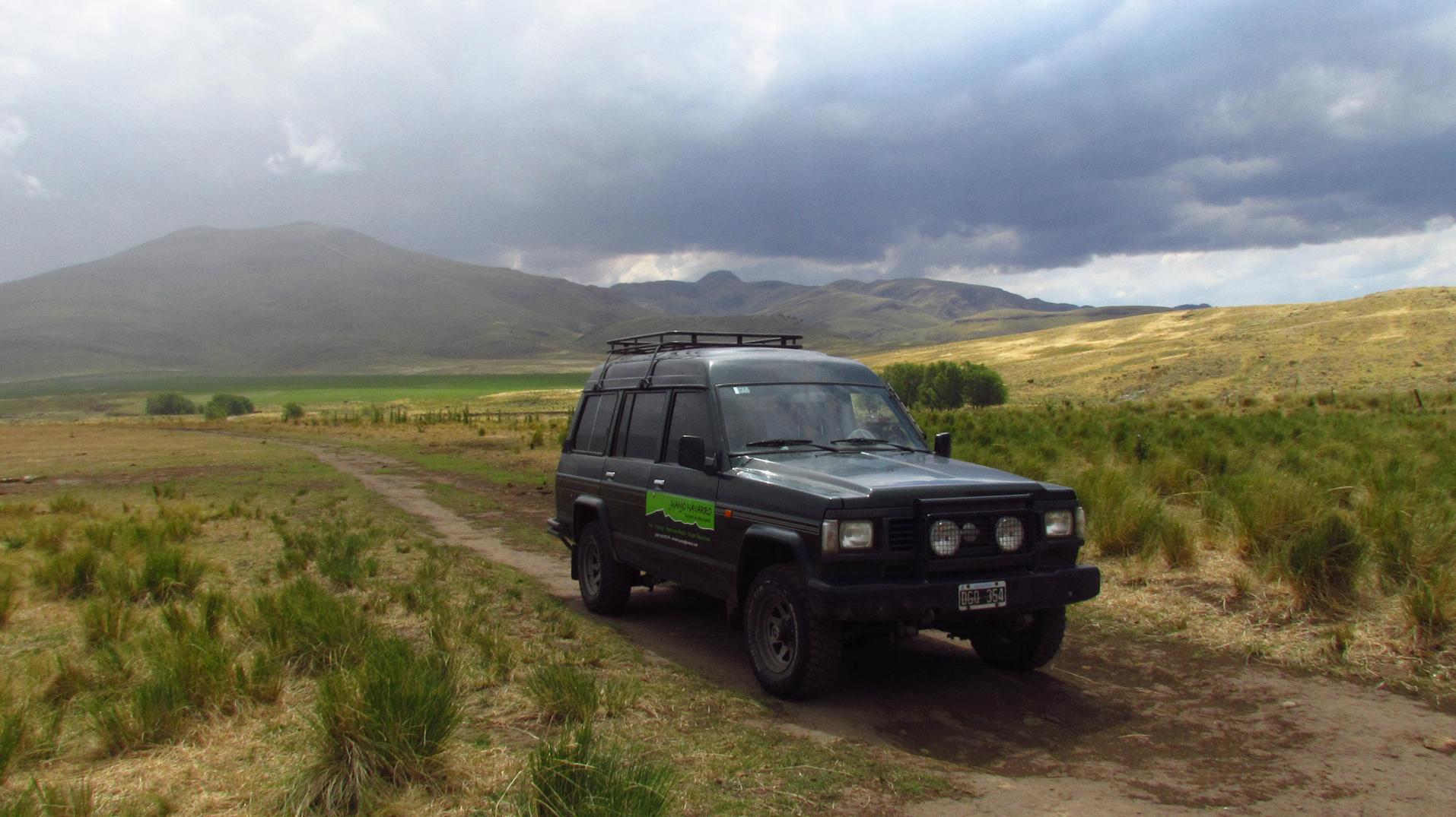 Excursión 4x4 en Sierra de la Ventana