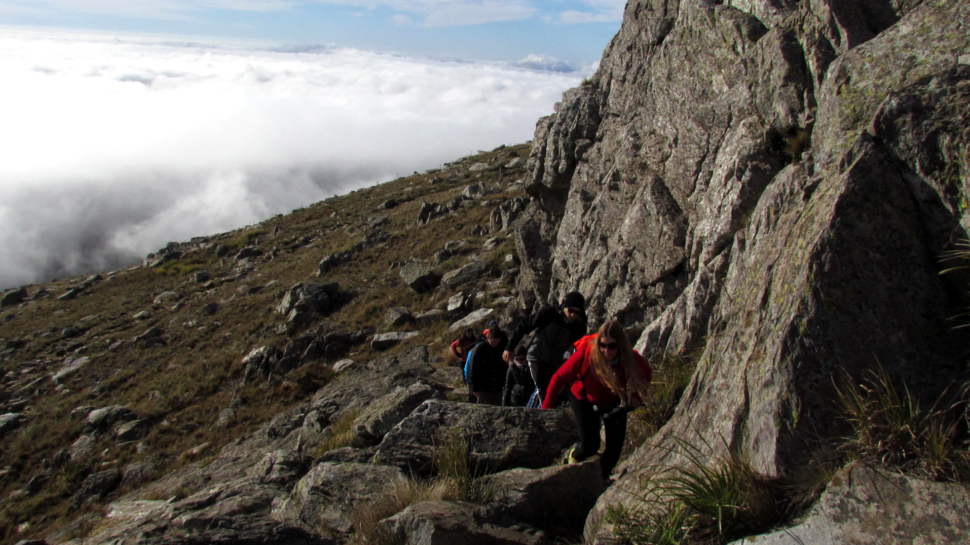 Trekking en Sierra de la Ventana